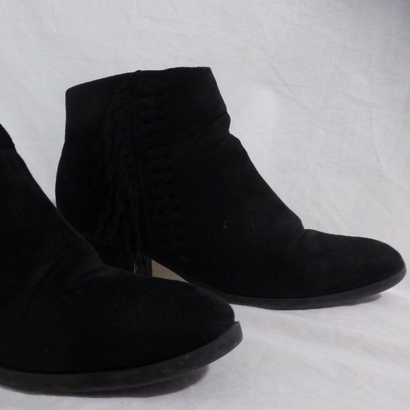 MAURICES CANADA black ankle boots with heels 7.5 M